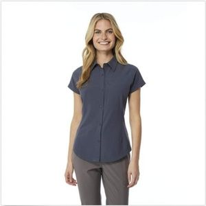 32 Degrees Tops - 32 Degrees Outdoor Performance Top Button Down Shi